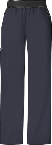 Flexible Damenhose mit Cargo Tasche