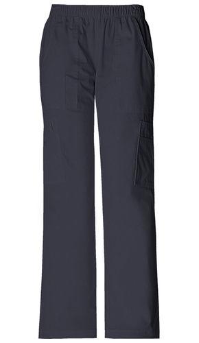 Damenhose mit Gummizug - kurze Beinlänge