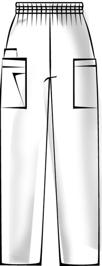 Damen Hose mit Gummizug