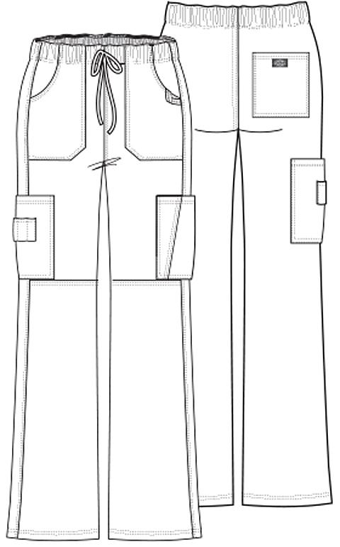 Coole Dickies EDS Cargohose für Damen