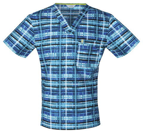 "Code Happy Antim. Herrenkasack ""Tropical Plaid"" *Saisonartikel*"