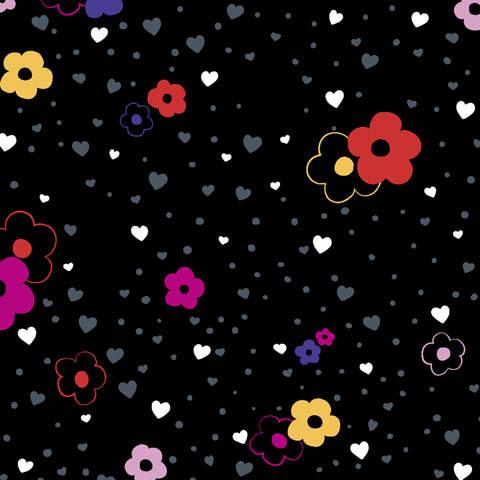 "Code Happy Damenkasack ""More Flower To You"" - antimikrobiell *Saisonartikel*"