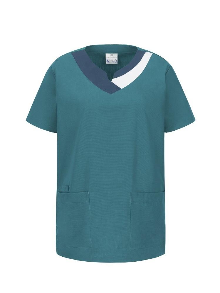 MedizinStyle Tricolor Unisex Kasack viele Farben *Restposten*