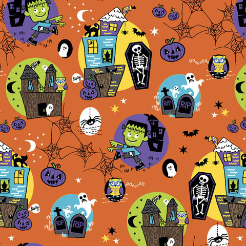 Dickies Damenkasack mit Stretch - Halloween Night *Saisonartikel*
