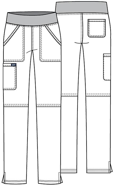Cherokee WW Revolution Damenhose mit breitem Bund
