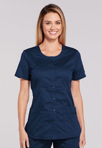 Cherokee Uniforms Premium WW - Damenkasack mit Knöpfen - Einzelstück Navy S