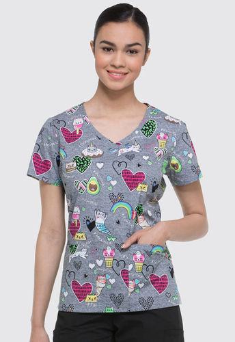 Dickies Damenkasack - Schnurrige Kätzchen *Saisonartikel*