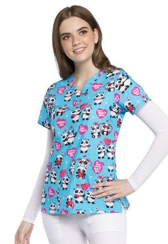 "Cherokee Damenkasack ""Verliebte Pandas"" *Saisonartikel*"